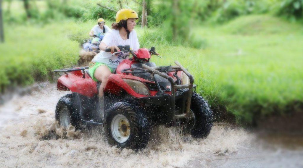 Bali Quad Bike Tanah Lot Tour