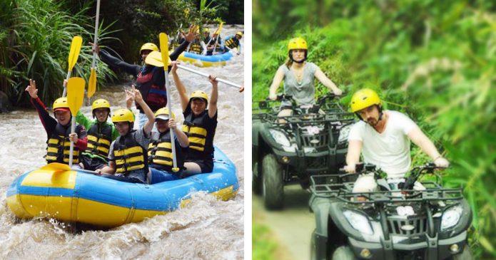 Bali Rafting Quad Bike Tour
