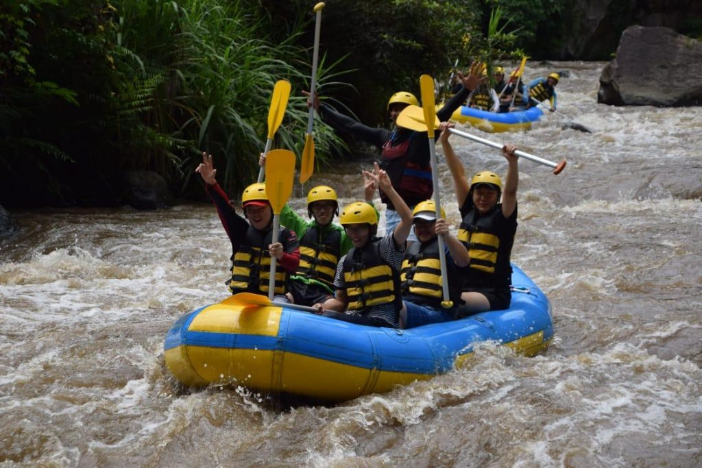 Bali Horse Riding Rafting Tour