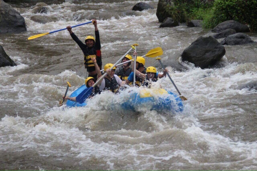 Bali Cycling Rafting Tour