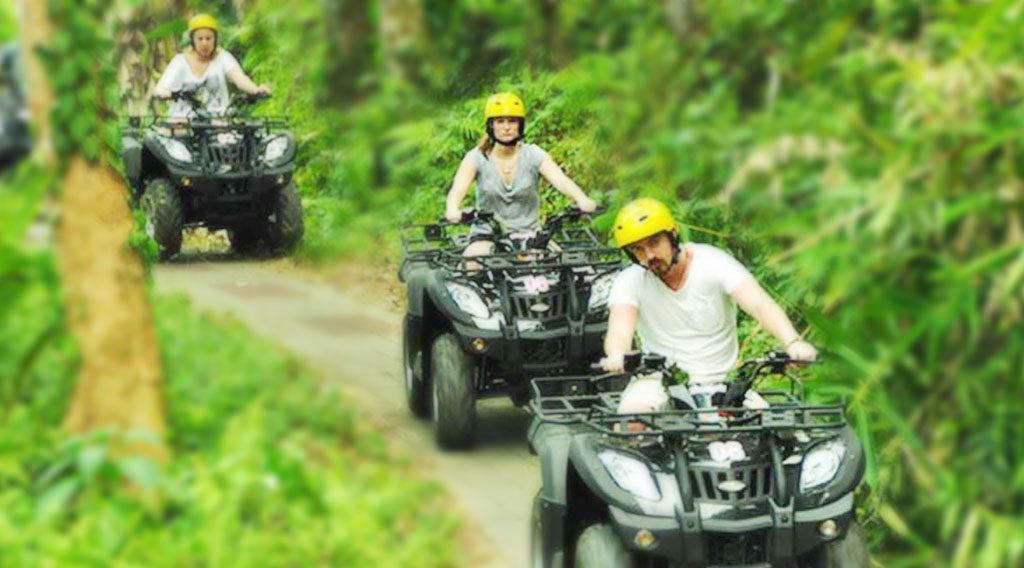 Bali Rafting Quad Bike Tour