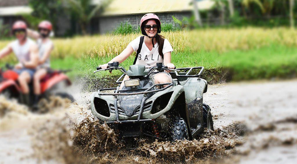 Bali Tubing Quad Bike / ATV Tour