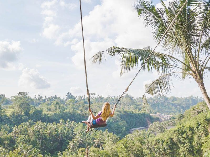 Bali Ubud Full Day Ubud Tour & Swing