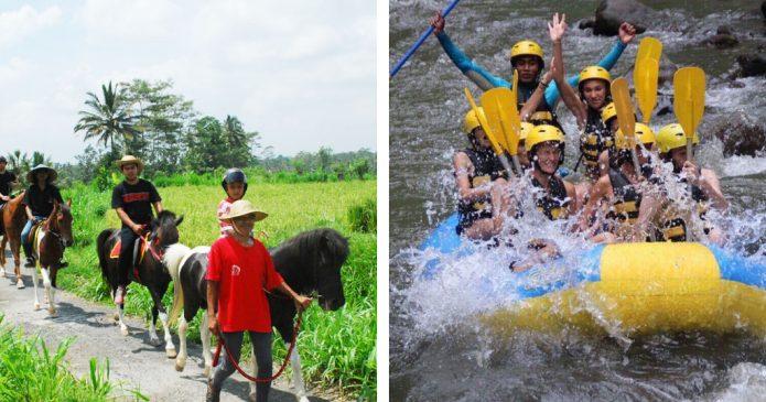 Bali Horse Riding Rafting Tour
