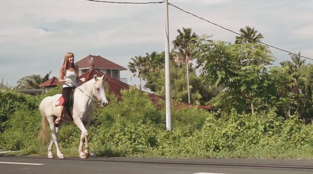 Bali Horse Riding Cycling Tour